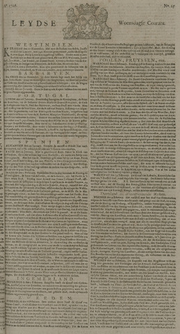 Leydse Courant 1726-02-27