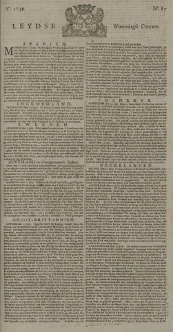 Leydse Courant 1739-07-22
