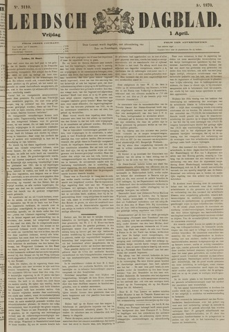 Leidsch Dagblad 1870-04-01