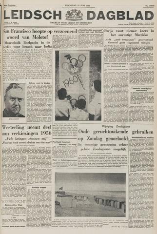Leidsch Dagblad 1955-06-22