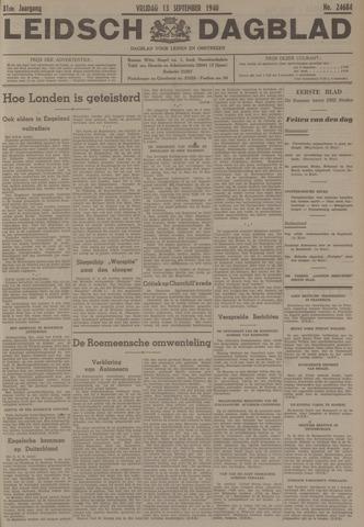 Leidsch Dagblad 1940-09-13