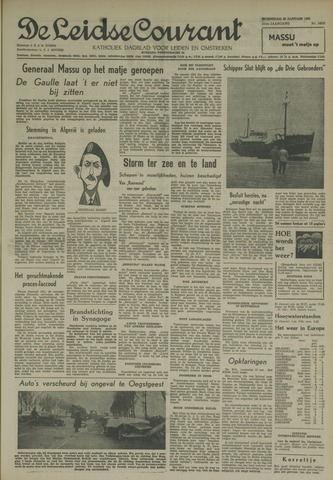 Leidse Courant 1960-01-20