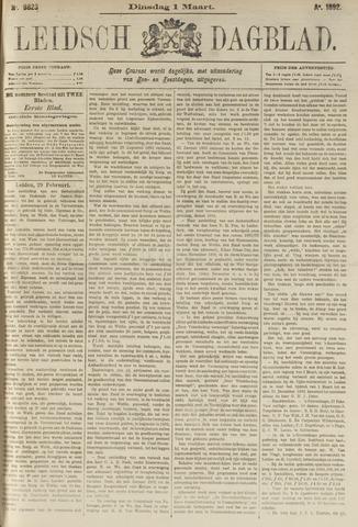 Leidsch Dagblad 1892-03-01