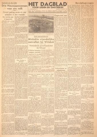 Dagblad voor Leiden en Omstreken 1944-01-04