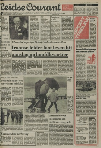 Leidse Courant 1981-06-29