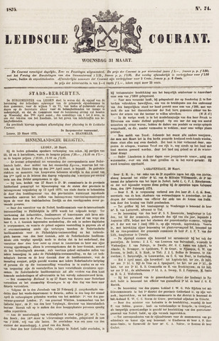 Leydse Courant 1875-03-31