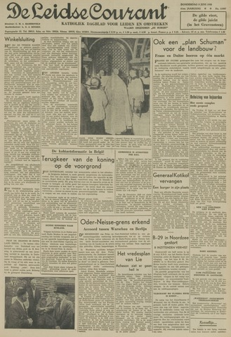 Leidse Courant 1950-06-08