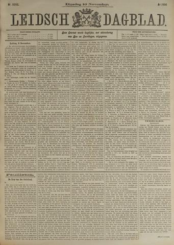 Leidsch Dagblad 1896-11-10