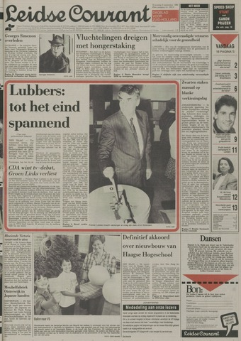 Leidse Courant 1989-09-06