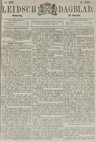Leidsch Dagblad 1878-02-20