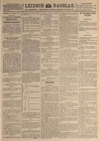 Leidsch Dagblad 1921-09-28