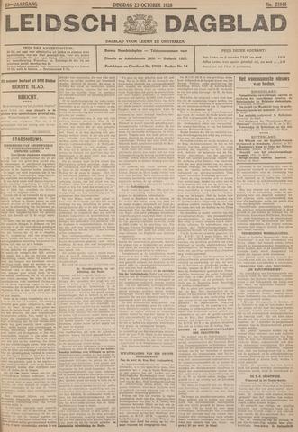 Leidsch Dagblad 1928-10-23