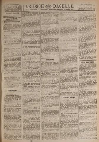 Leidsch Dagblad 1920-04-14