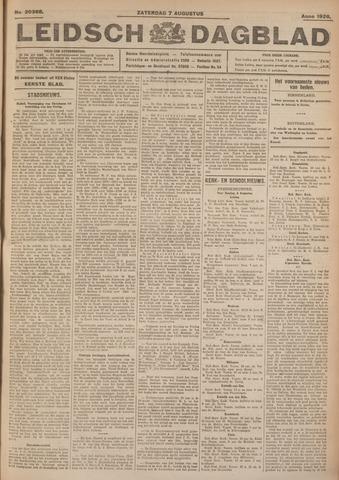 Leidsch Dagblad 1926-08-07