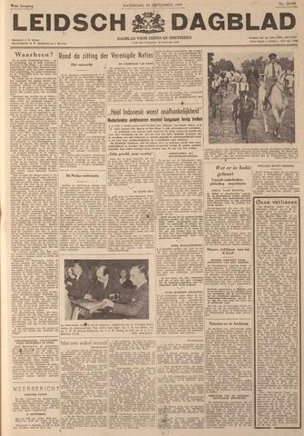 Leidsch Dagblad 1947-09-20