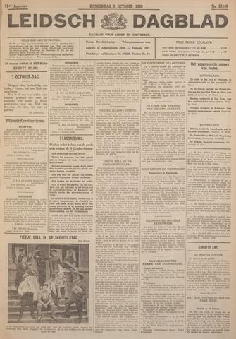 Leidsch Dagblad 1930-10-02