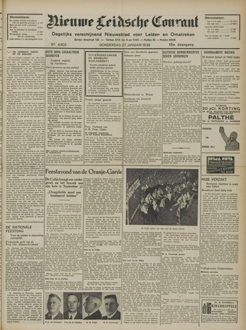 Nieuwe Leidsche Courant 1938-01-27