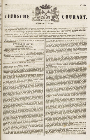Leydse Courant 1873-03-11