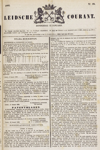 Leydse Courant 1882-01-12