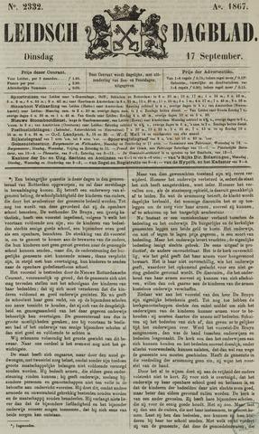 Leidsch Dagblad 1867-09-17
