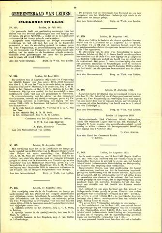 Handelingen van de Raad 1933-07-28