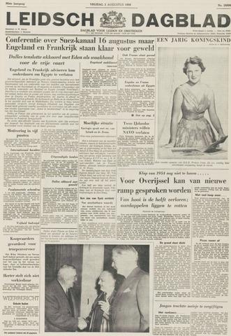 Leidsch Dagblad 1956-08-03