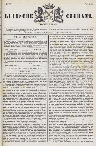 Leydse Courant 1882-05-31