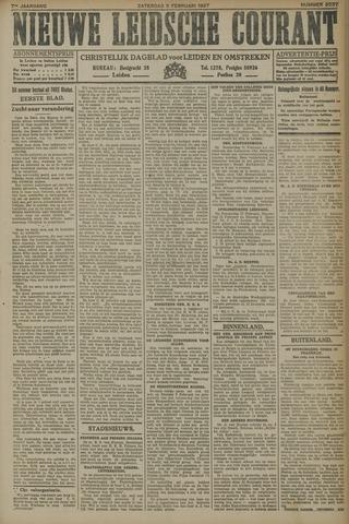 Nieuwe Leidsche Courant 1927-02-05