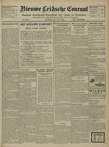 Nieuwe Leidsche Courant 1939-07-24