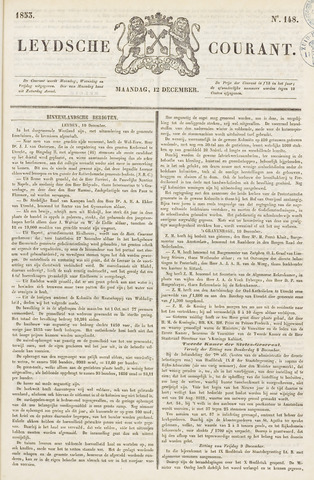 Leydse Courant 1853-12-12