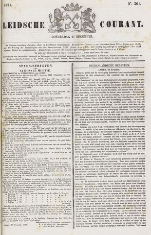 Leydse Courant 1871-12-21