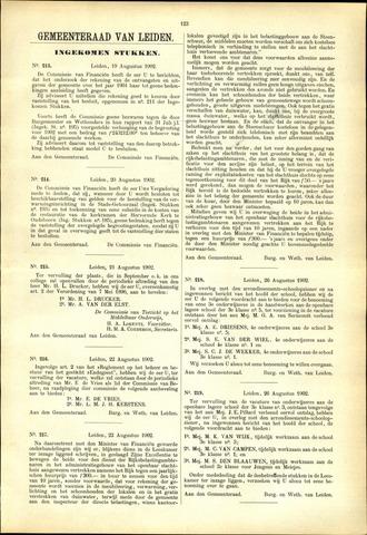 Handelingen van de Raad 1902-08-19