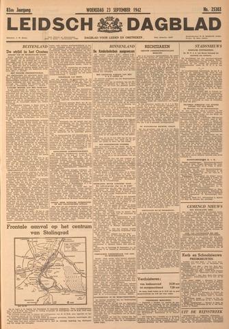 Leidsch Dagblad 1942-09-23