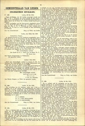 Handelingen van de Raad 1910-05-20