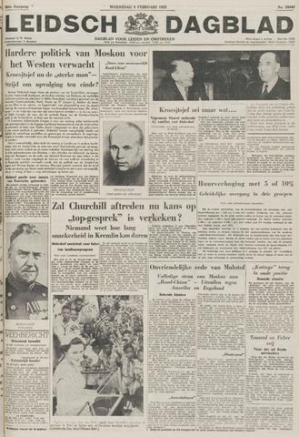 Leidsch Dagblad 1955-02-09