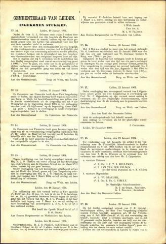 Handelingen van de Raad 1904-01-19