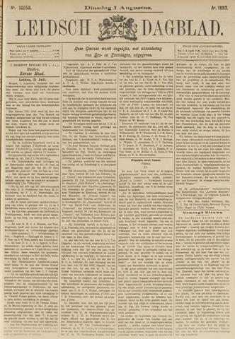 Leidsch Dagblad 1893-08-01