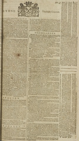 Leydse Courant 1772-04-17