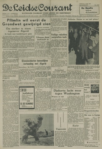 Leidse Courant 1958-05-23