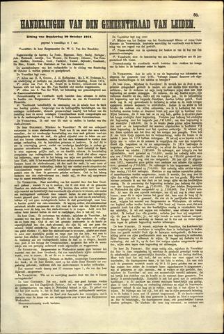 Handelingen van de Raad 1874-10-29