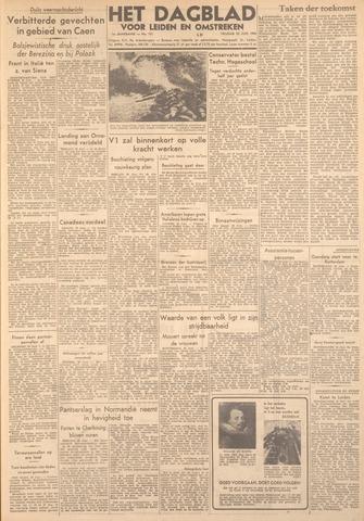 Dagblad voor Leiden en Omstreken 1944-06-30