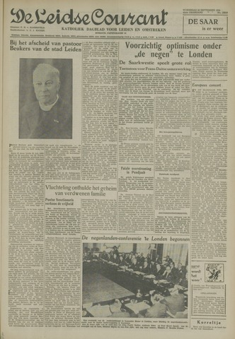 Leidse Courant 1954-09-29