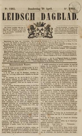 Leidsch Dagblad 1864-04-28