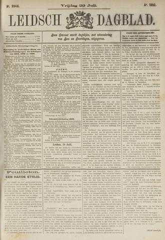 Leidsch Dagblad 1892-07-29