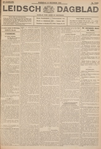 Leidsch Dagblad 1928-12-12