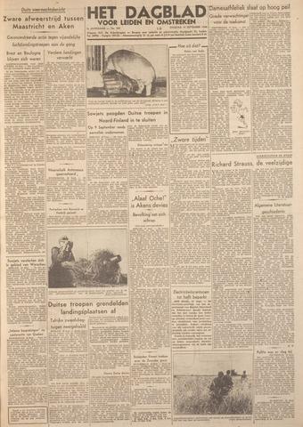 Dagblad voor Leiden en Omstreken 1944-09-19