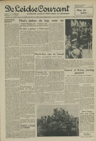 Leidse Courant 1951-05-04