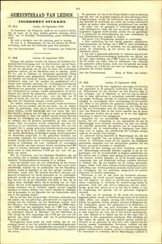 Handelingen van de Raad 1912-09-16