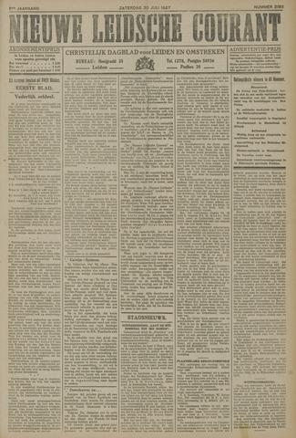 Nieuwe Leidsche Courant 1927-07-30
