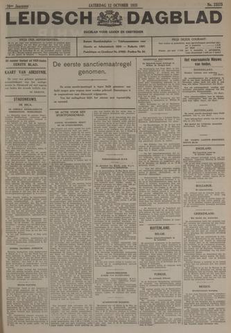 Leidsch Dagblad 1935-10-12